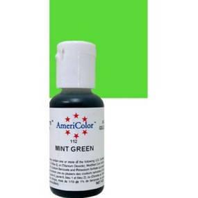 Краситель гелевый Americolor Зеленая мята (Mint green), фото 2