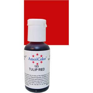 Краситель гелевый Americolor Красный тюльпан (Tulip red), фото 2