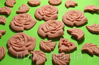 Молд кондитерский Розы и бусы, фото 3