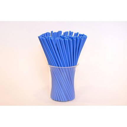 Палочки для кейк-попсов синие Украина 15 см, фото 2