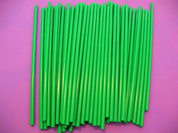 Палочки для кейк-попсов зеленые Украина 15 см, фото 2
