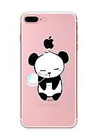 Чехол Print fashion для iPhone 8 Plus с принтом Панда (r_i 36)