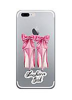 Чехол Print fashion для iPhone 8 Plus с принтом Fashion girl (r_i 1)