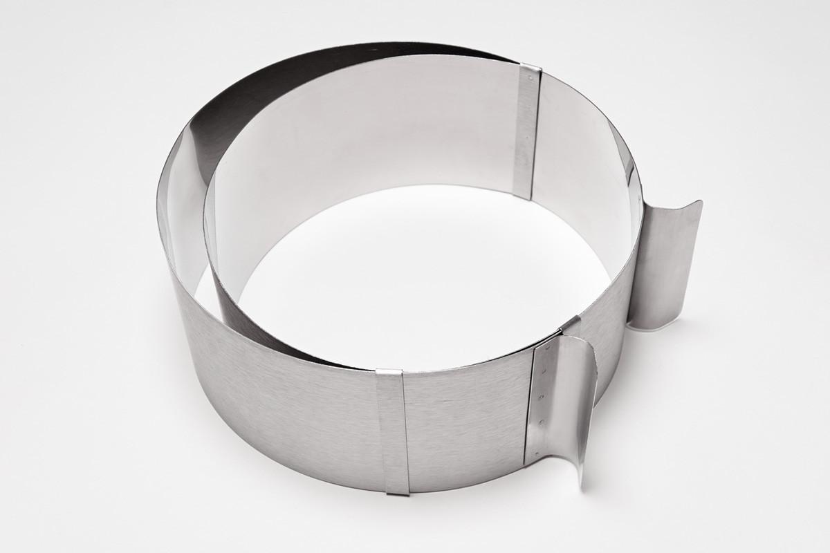 Кольцо кондитерское раздвижное: высота 15 см (Украина)