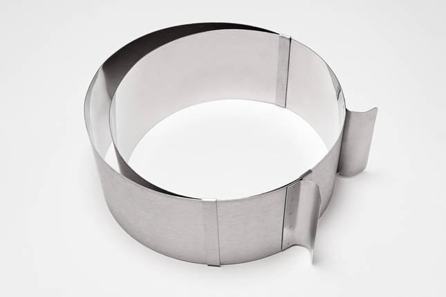 Кольцо кондитерское раздвижное: высота 15 см (Украина), фото 2