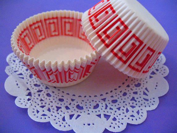 Тарталетки (капсулы) бумажные для кексов, капкейков Греция 2, фото 2