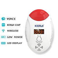 Беспроводная версия Kerui cd17w 433MHz LED цифровой датчик окиси углерода газа совместно предупреждающий сигнал детектора