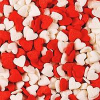 Посыпка кондитерская Сердца 50 грамм