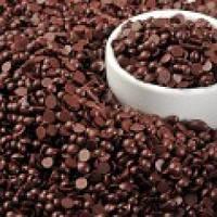 Шоколадные дропсы черные (1 кг)