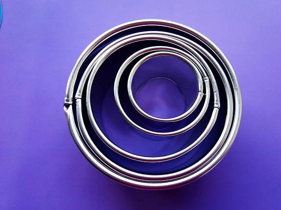 Набор круглых форм для гарнира из 5-ти, фото 2