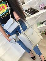 Женская сумка 4 в 1 (сумка+клатч+косметчика+визитница)
