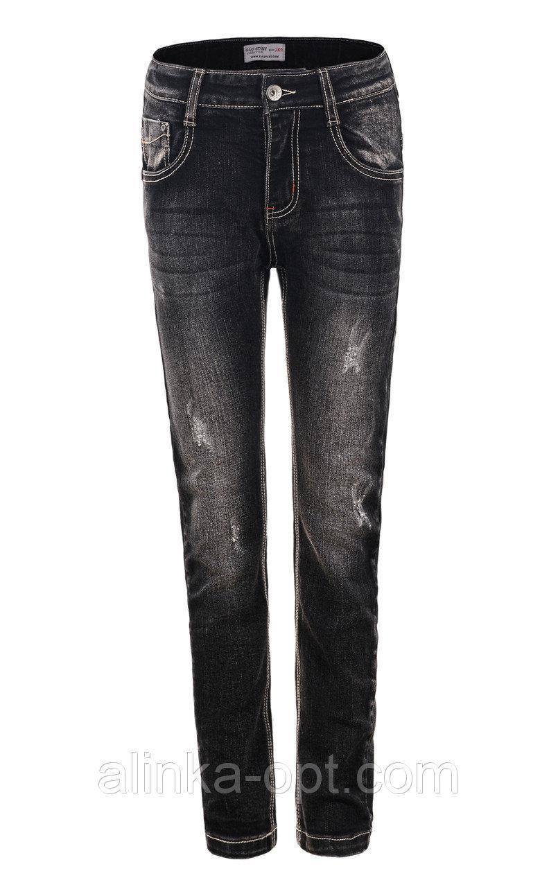 Джинсовые брюки для мальчиков Glo-Story оптом , 98-128 рр. {есть:98}