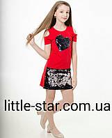 Туника-платье для девочки 10-17 лет  в розницу Турция, фото 1