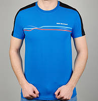 Мужская Футболка Puma BMW Motorsport 4880 Синяя