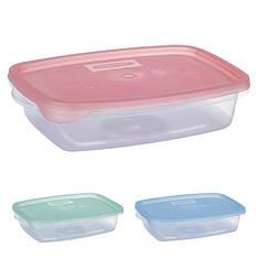 Контейнер пластиковый для пищевых продуктов 700мл прямоугольный PT-82408