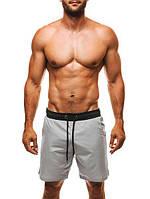 Мужские плавательные шорты серые