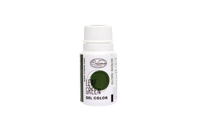 Гелевый краситель Criamo Зеленый лист 10 г., фото 2