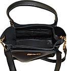 Женская черная сумка MK (24*27*12), фото 4