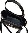 Женская черная сумка MK (24*27*12), фото 3