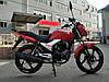 Мотоцикл HORNET R-150 (150 см.куб., красный/черный/мокрый асфальт)