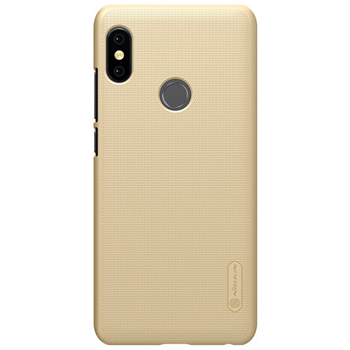 Чехол-бампер Nillkin Super Frosted Shield Gold для Xiaomi Redmi Note 5