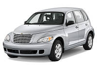 "Chrysler PT Cruiser - установка биксеноновых линз 2,5"" дюйма"