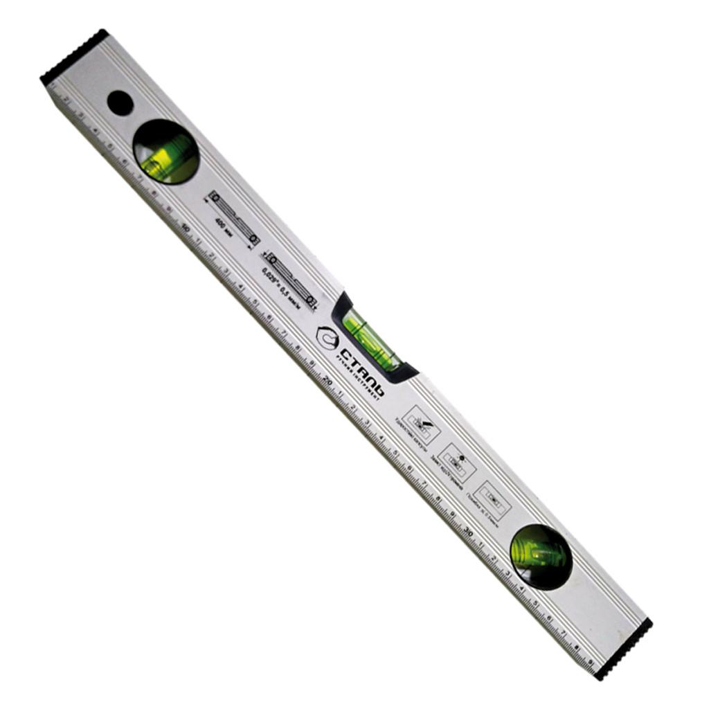 Сталь 26017 Уровень спиртовой 600 мм профиль 0.9 мм