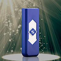Портативная электронная зажигалка Usb blue