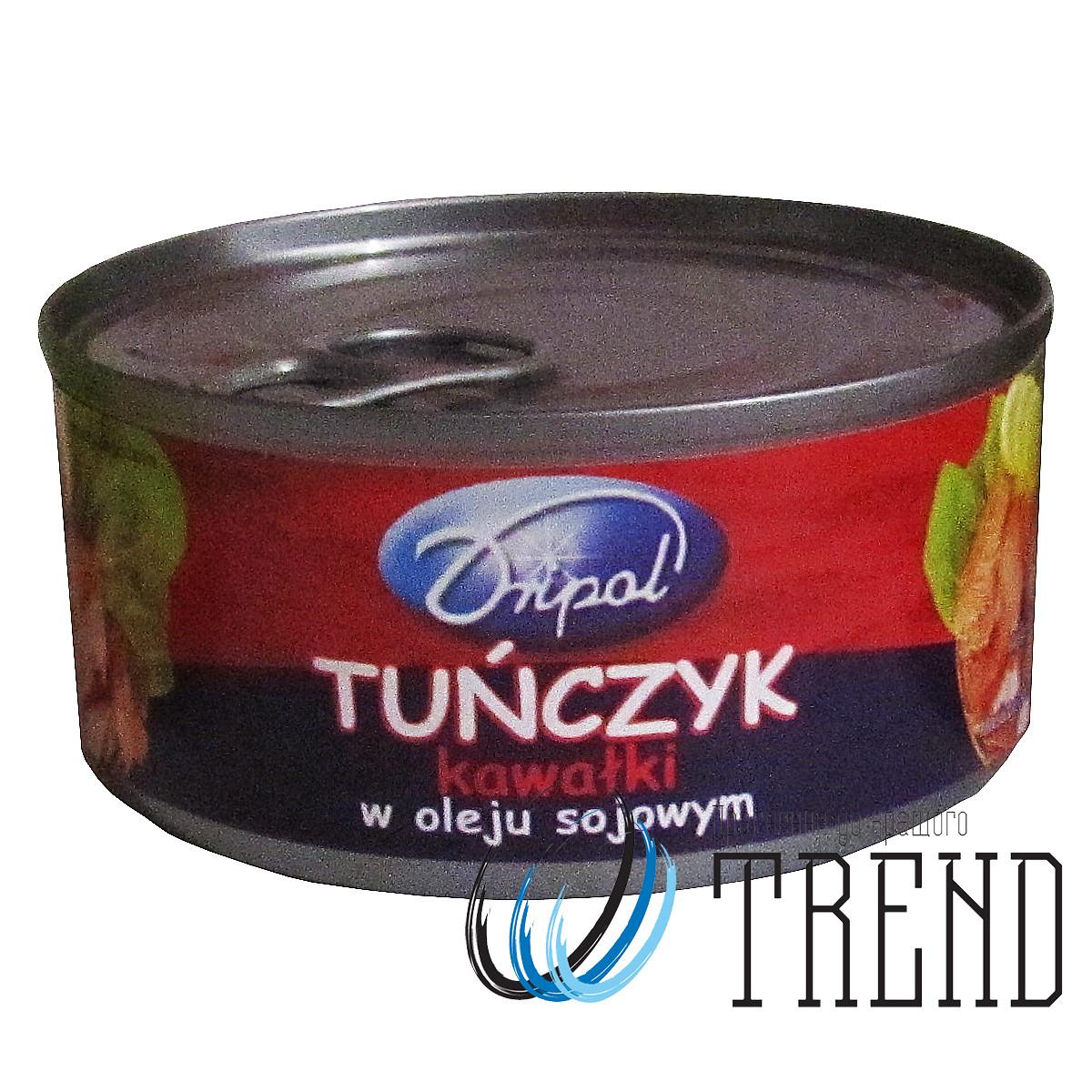 Dripol Tunczyk kawalki v oleju (Тунець в олії куском) 170 гр.,