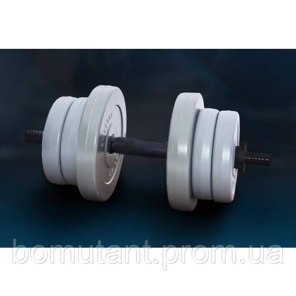 "Гантель 11 кг ""GRAY"" от RN-Sport"