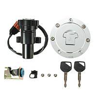 Выключатель зажигания двигателя ключ крышка топливного бака газа сиденья замком для Honda CBR1000RR 2004-2007 CB600F