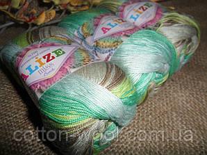 Alize Miss Batik 3717 100% мерсеризованный хлопок