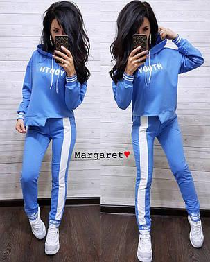 Модный спортивный костюм, размер единый 42-44, фото 2