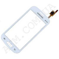 Сенсор (Touch screen) Samsung S7390/  S7392 Galaxy Trend Duos белый оригинал