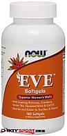 Комплекс витаминов для женщин Ева, Eve Women's Multiple Vitamin Now Foods, 180 softgel