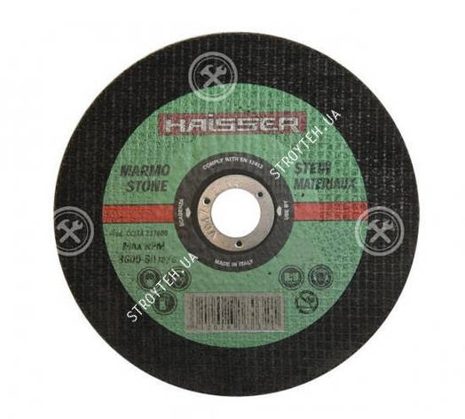 Круг отрезной по металлу Haisser 125х1.0х22.2 мм, фото 2