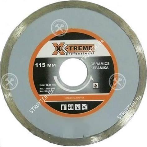 X-TREME 115x5x22.225мм Круг алмазный по плитке, фото 2