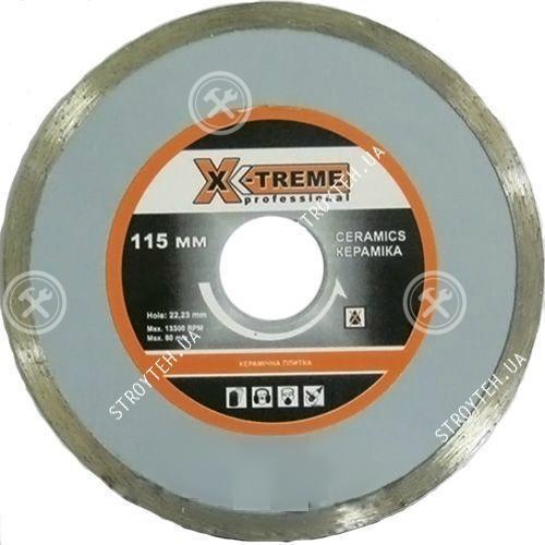 X-TREME 115x5x22.225мм Круг алмазный по плитке