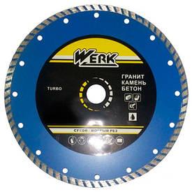 Алмазний диск Werk Turbo WE110111 (125x7x22.225 мм)