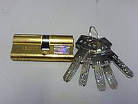 Цилиндр замка  Kale 164 BN  68 мм латунь