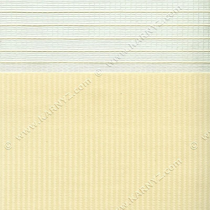 Рулонные шторы День-Ночь Софт Z-654 бежевый айвори