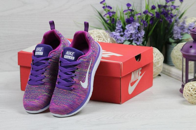 1c99e3fd Женские кроссовки в стиле Nike Free Run, фиолетовые / кроссовки женские  Найк Фри Ран,