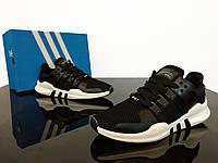 Женские кроссовки Adidas EQT Support ADV Black (реплика)