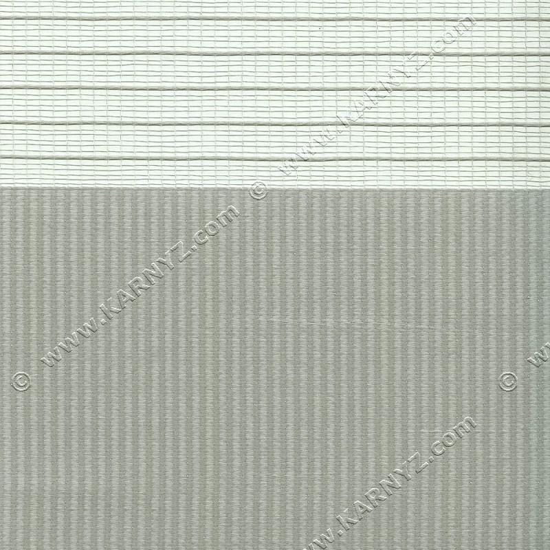 Рулонные шторы День-Ночь Софт Z-656 серый