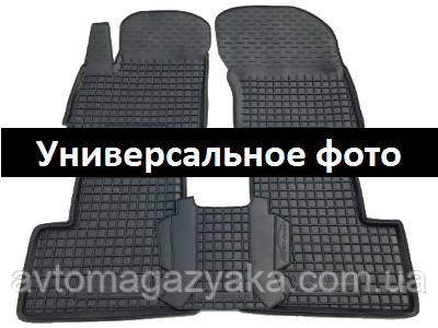 Коврики резиновый для Renault Sandero 2008 - 2012  5 шт CLASSIC