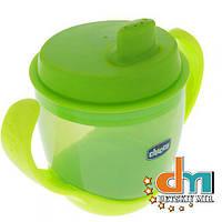 Детская чашка-поильник зеленая Chicco 06824.50, В наличии