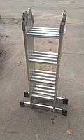 Лестница трансформер 4х3, алюминиевая, фото 3