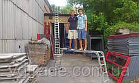 Лестница трансформер 4х3, алюминиевая, фото 7