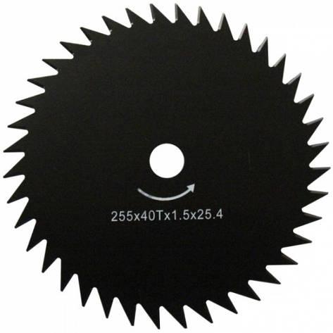 WERK 255х25.4х1.6 мм Ніж для мотокоси, фото 2