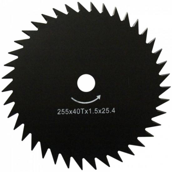 WERK 255х25.4х1.6 мм Ніж для мотокоси